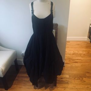 All Saints Melody Dress with hems dropped